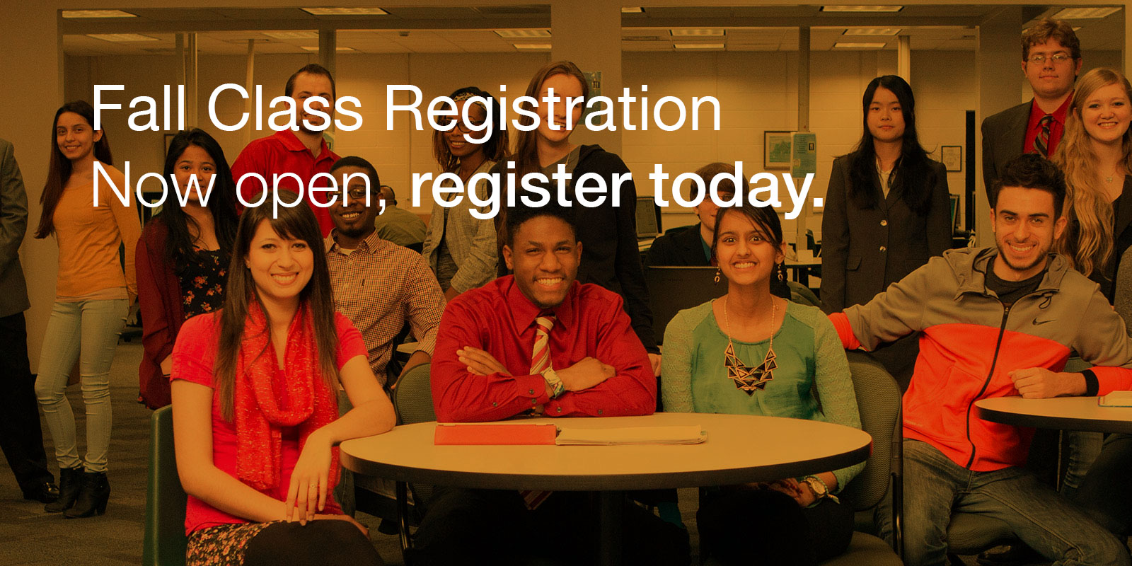 Fall Class Registration: Now Open