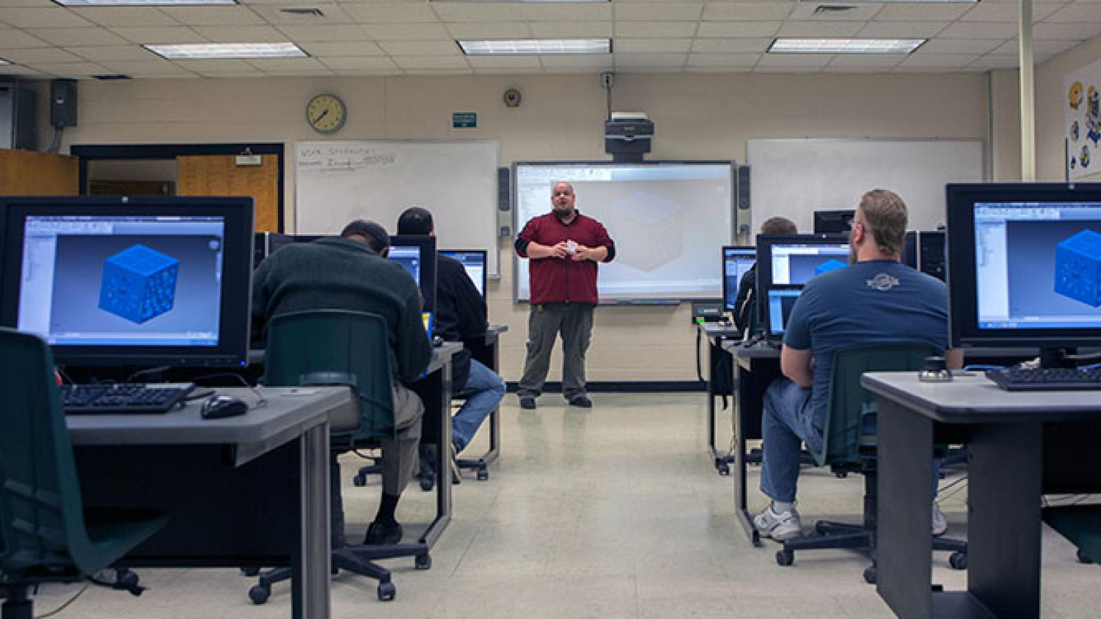 Computer Aided Drafting And Design Technology   Associate Degree