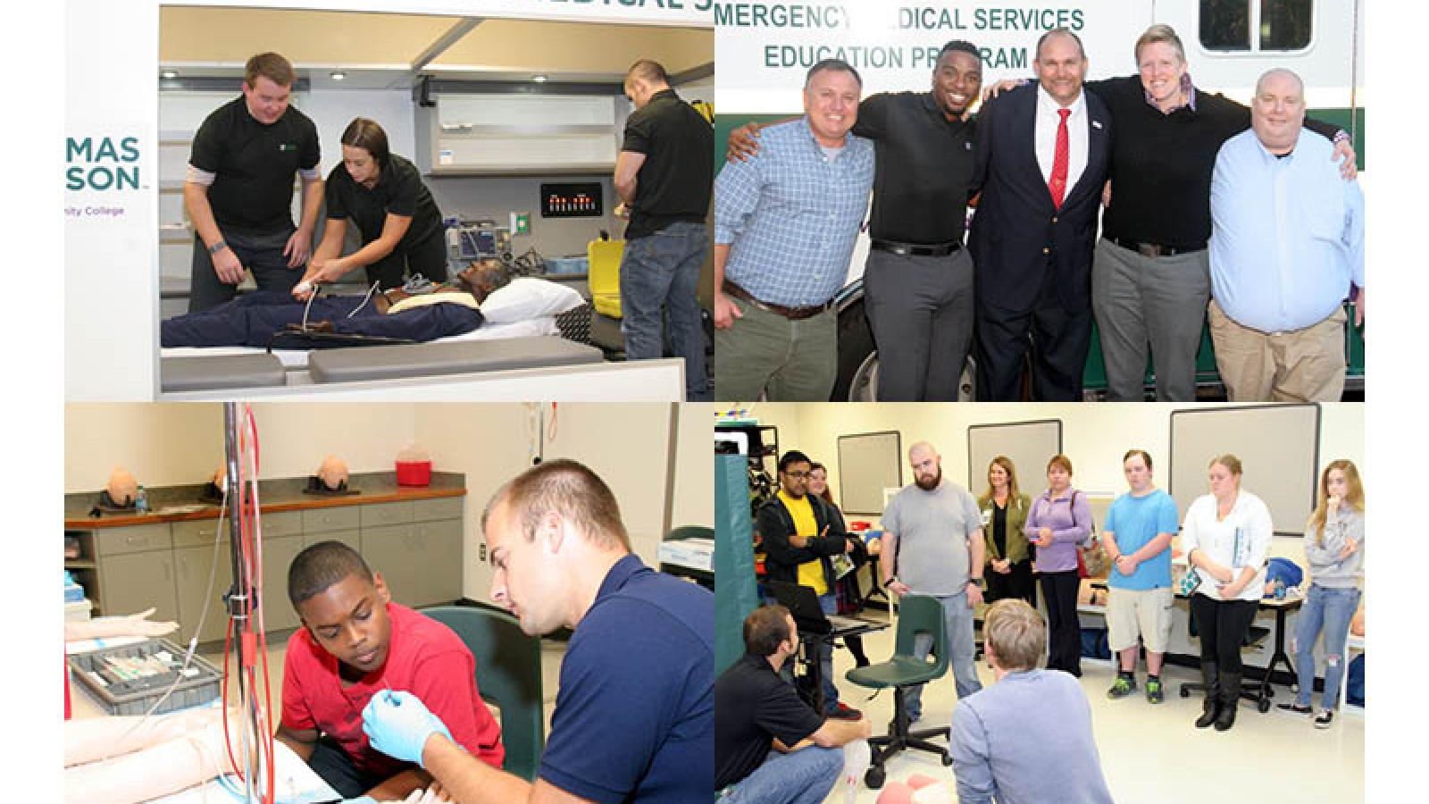 Image for EMS Open House Showcases Program to Community and Partners