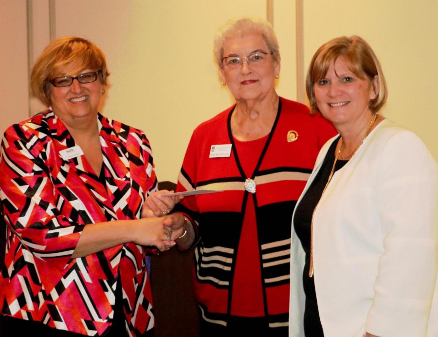 Image for Local Women's Organization Presents $2,000 to Thomas Nelson to Benefit Student Emergency Fund
