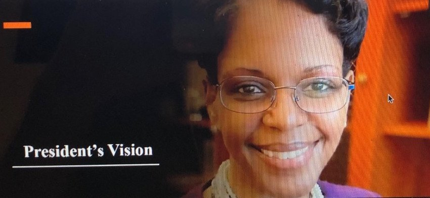 Image for President Reveals Vision at Monday Meet-up