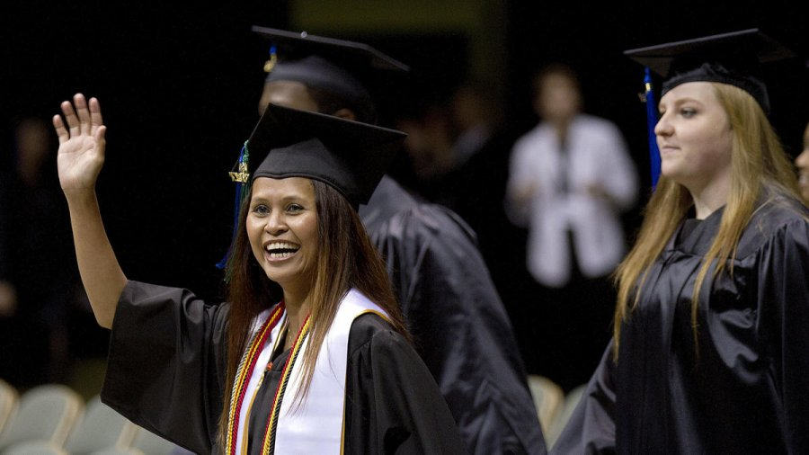Image for College's 48th Commencement Exercises Highlighted in Local Newspaper