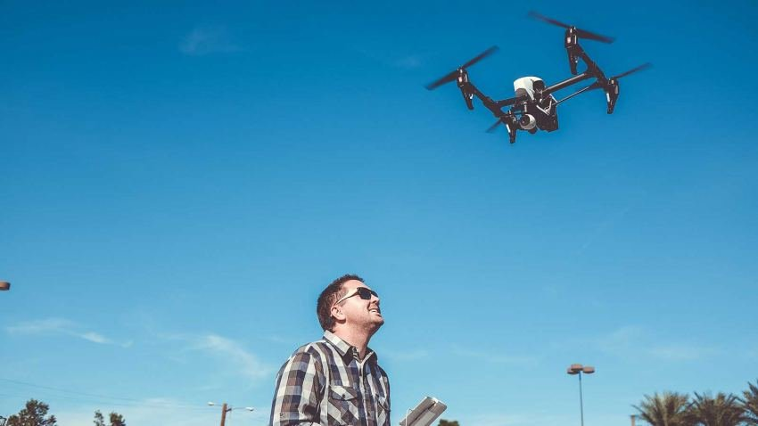 Image for College Part of New FAA Training Initiative for Drones Program