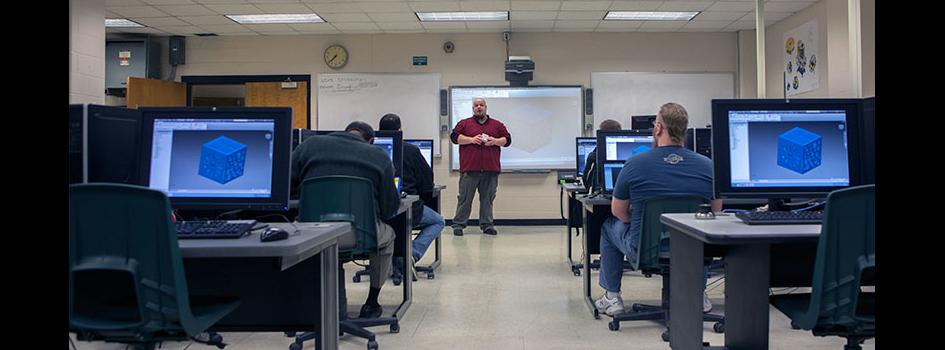 Computer Aided Drafting and Design Technology - Associate Degree